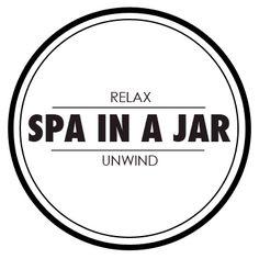 Spa in a jar label
