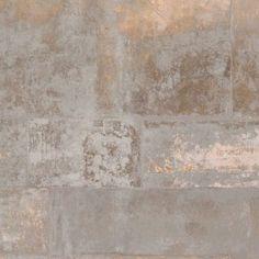 Behang Eye Voca 47213 Verweerd Steen Brons Geel tinten