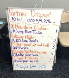 Burn Boot Camp Workout -- Partner Drop Set Workout