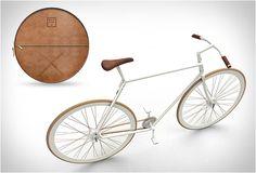 Kit Bike: Stijlvolle fixie die past in een lederen tas -