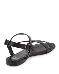 The Original Celebrity Shoes Site * Since 2005 Leather Sandals Flat, Flat Sandals, Celebrity Shoes, Shoe Sites, Frye Shoes, Ring, Celebrities, Fashion, Moda
