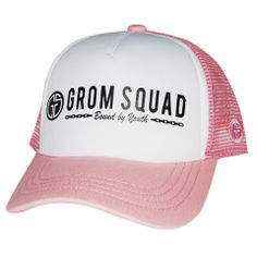 36cfeb5d2aa GROMSQUAD USA - 2 0 - BOUND BY YOUTH. Surfer BabyTrucker Hats18 ...