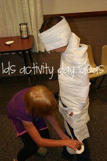 LDS Activity Day Ideas: Halloween Celebration Night