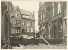 Dordrecht<br />Dordrecht: De watersnood in 1953. Family Roots, Childhood Memories, Canon, Painting, Cannon, Painting Art, Paintings, Painted Canvas, Drawings