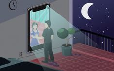 Long distance romance vector illustratio... | Premium Vector #Freepik #vector #business #people #heart #love Happy Friendship Day Picture, Friendship Day Pictures, Romance, Long Distance Friendship, Romantic Things To Do, Vector Photo, Relationship, Illustration, Vector Freepik