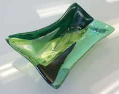 Fused Glass Trinket Tray -- Sheila Hydle/Glassateria