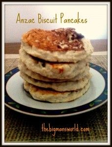 Anzac Biscuit style pancakes- A healthy twist on the Australian classic cookie- made into pancake form! High protein, high fiber- yet no compromise on taste! The perfect breakfast!