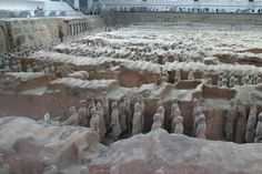 Mausoleum of the First Qin Emperor, China