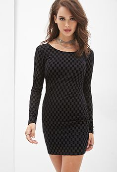 Checkered Velveteen Dress | FOREVER21 - 2000082896 *_* most