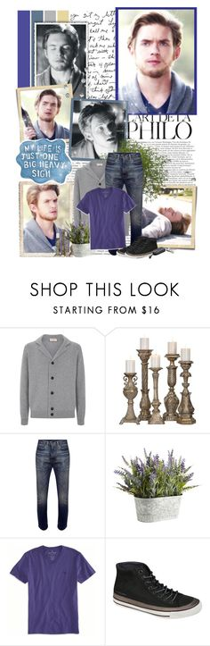"""Luke Parker - 5.22 ""Home"""" by noseinanovel ❤ liked on Polyvore featuring John Smedley, Couture Lamps, Levi's, Pier 1 Imports, American Eagle Outfitters and Calvin Klein Jeans"