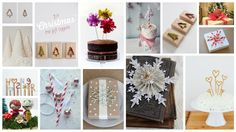 Diply.com - DIY Gift and Cake Toppers
