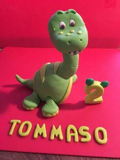Dino cake topper