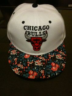 florals on my snapback