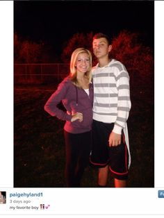 Paige Hyland With Her Brother