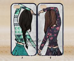 every brunette need a blonde Best Friend iPhone by BFFcase on Etsy, $14.99
