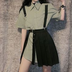 Fashion Tips Shoes .Fashion Tips Shoes Teen Fashion Outfits, Kpop Outfits, Edgy Outfits, Korean Outfits, Fashion Tips For Women, Pretty Outfits, Fashion Dresses, Cute Outfits, Skirt Outfits