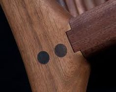 Maloof - furniture joint detail
