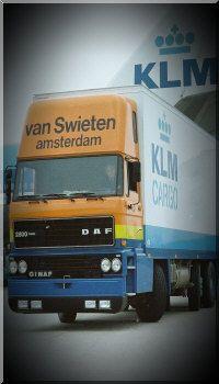 KLM Cargo history: Van Swieten KLM Cargo truck
