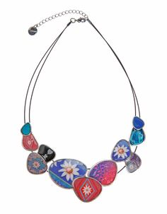 61G55B5_3041 Desigual Necklace Happy Bazar, Canada