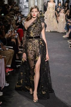 Every look from Elie Saab's Fall 2016 Couture runway.