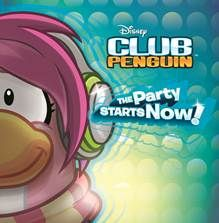 """club penguin EP """"The Party Starts Now"""""""