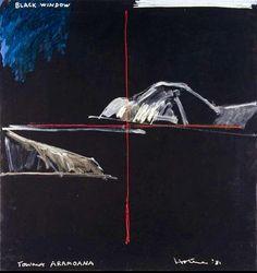 Ralph Hotere Artist Painting, Artist Art, Example Of News, New Zealand Art, Nz Art, Maori Art, Textile Texture, Conceptual Art, Art Images