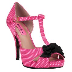 Betsey Johnson Canddee Open Tow T-Strap Heel #VonMaur    Happy Birthday to me, Happy Birthday to me...