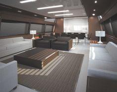 Internal view Riva Yacht - Mythos  #yacht #luxury #ferretti #riva