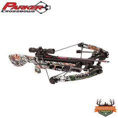 Parker Concorde Quick Draw - #175 - Crossbow Package - Camo - w/ 2013 MR Scope