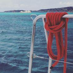 #knot #sailing #sea #sardinia #italy
