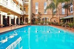 Poolside at Holiday Inn French Quarter-Chateau Lemoyne - New Orleans, French Quarter 301 Dauphine Street   New Orleans,  Louisiana  70112