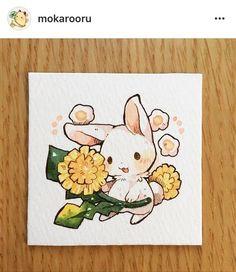 萌 壁纸,插画,兔子 太阳 毛 头像
