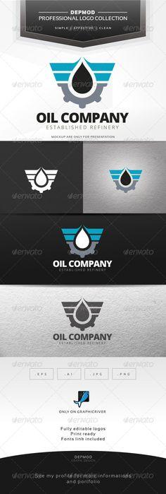Oil Company Logo - Company Logo Templates
