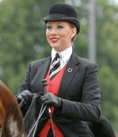 Saddle Seat Equitation is fun and challenging. I love this suit!