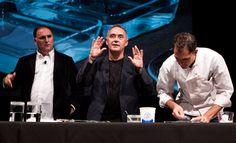 Ferran Adrià y Joan Roca participan en las jornadas 'Science and Cooking 2014' de Harvard : http://www.7canibales.com/ferran-adria-y-joan-roca-participan-en-las-science-and-cooking-2014-de-harvard/