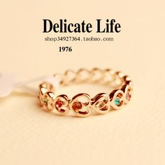 Heart vintage ring finger ring female accessories index finger ring christmas gift h501 on AliExpress.com. $11.38
