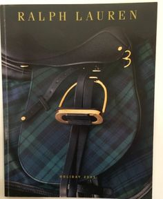 RARE POLO Ralph Lauren Holiday 2001 Catalog Excellent Like new