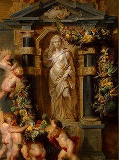 Peter Paul Rubens, The Statue of Ceres, ca. 1615