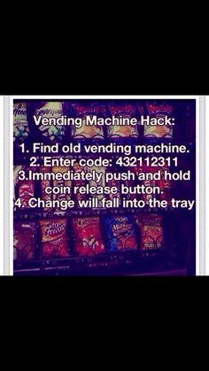 drinks machine hack