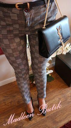 Eleganckie spodnie KRATA. , 29,00zł, zamówienia składamy w sklepie na stronie madleen.pl. Fashion, Moda, Fashion Styles, Fashion Illustrations