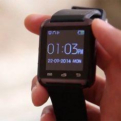 """SmartWatch U08  Spesifikasi : Layar sentuh 148"""" Multi bahasa Teknologi layar sentuh Untuk Android dan ios Strap silikon  smartwatch U08 adalah smartwatch bluetooth yang membuat menghubungkan ponsel Android dan ios anda yang secara mudah mengakses -panggilan telepon -Phonebook -sms -pedometer -pemutaran musik -alarm -kalender -stopwatch -dsb  Harga Rp 120.000- Warna : Putih  Hitam & Merah .  Order : line@ : jakartakomputer (pakai @ yaa) WA : 087878775832 BBM: 5B04D5D6  #smartwacthu08 #jam…"""