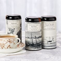 Outerbanks Tea Gift - Tea - Coffee & Tea Pretend you're relaxing at the beach on the Outer Banks and enjoy a sampling of fine teas in this beautifully packaged assortment from Charleston's Oliver Pluff & Company. Includes Lost Colony Peppermint Tea, Cape Hatteras Earl Grey and Wright Brothers English Breakfast.