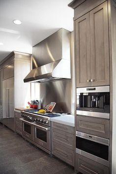Best Grey Stained Oak Cabinets Dimyself In 2019 Oak 400 x 300