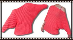 Valentine Fledermaus-Ärmel Pullover Häkelanleitung häkeln lernen Woolpedia