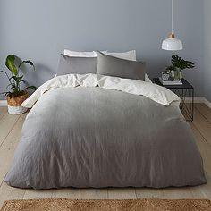Stylish and on-trend, the Ombre Quilt Cover Set is made from soft and luxurious cotton linen, with a print that makes this an effortless piece to...