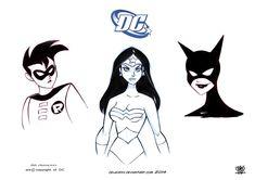 character design DC comics by celaoxxx.deviantart.com on @DeviantArt