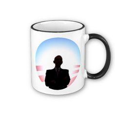 Obama Sunrise Silhouette Mugs