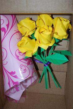2 origami roses paper flowers holiday valentine anniversary bouquet origami roses rose bouquet paper flowers origami flowers anniversary flower bouquet wedding decor valentine roses mightylinksfo