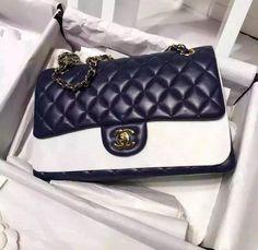 2aff8ed40e4a Chanel Classic Flap, Chanel Bags, Dark Blue, Chanel Tote, Chanel Handbags,  Dark Teal