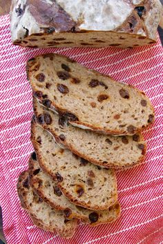 Cinnamon Raisin Bread // going to try subbing with non-dairy milk for a vegan version!